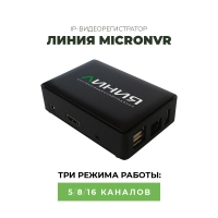 IP-Видеорегистратор «Линия MicroNVR»